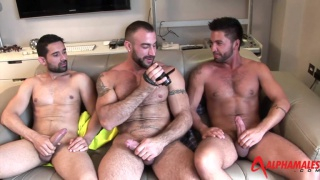 Spencer Reed and Billy Baval spit roast Dominic Pacifico
