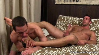 cameron kincade worships alex mecum's feet