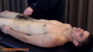 21-year-old straight boy gets a blowjob