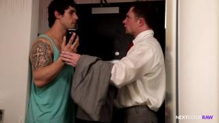 Jimmy Clay's first bareback sex scene