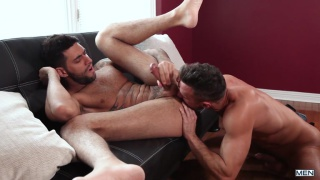 Mick Stallone bottoms for real-life lover Manuel Skye