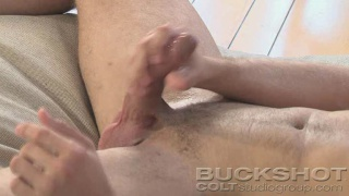 Brandon Lewis strokes his boner