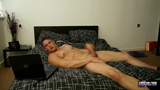 Muscle Cock Stroking With Harry coniston