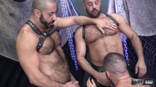 real-life partners Amir Badri and Matthieu Angel fuck marcus isaacs