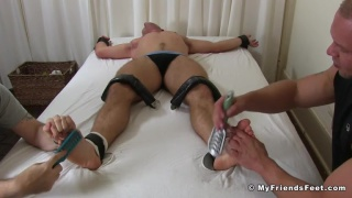 Scott Riley Tickle Tortured By Daxton