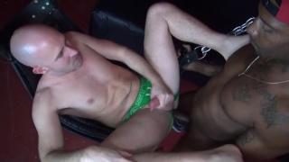 Romance fucks Trit Tyler's raw butt