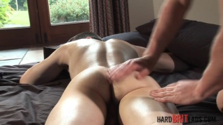 straight 18-year-old gets oiled massage and more