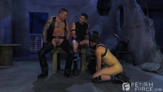Lance Hart, Micky Mackenzie & Max Cameron at Fisting Central