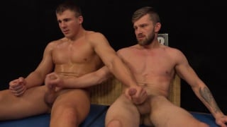 wrestling Nude men