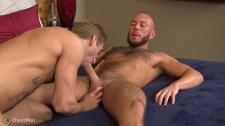 Jason Hillcrest gets his 8-inch cock serviced