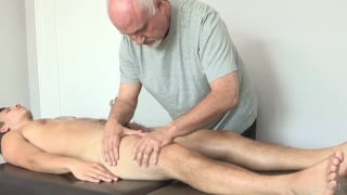 sexy young man David Plaza gets happy ending massage