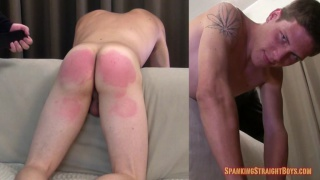"19-year-old spanked until he says ""yes, sir"""