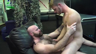 brian bonds rides luke harrington's cock