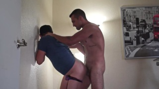 straight brazilian guy fucks cocksucker's ass
