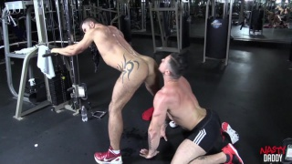 Adam Killian fucks Trenton Ducati in the gym