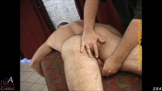 furry hunk's erotic massage with happy ending