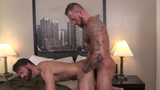 Brendan Patrick loves getting spanked hard