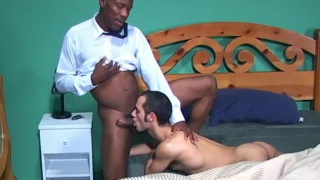 bottom can't get enough can't get enough of this BIG BLACK COCK