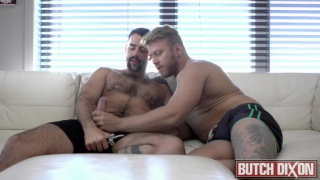 man steele fucks hairy man teddy torres