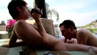 twinks films a homemade fuck video