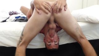 dax rails his nine-inch cock on josh's ass