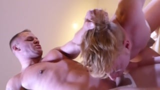 dax rails shawn's hole with his massive cock
