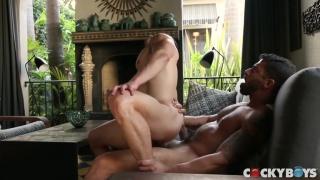 Jeremy Spreadums rides Adam Ramzi's cock