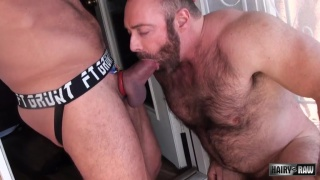 Brad Kalvo bare fucks Hugh Hunter