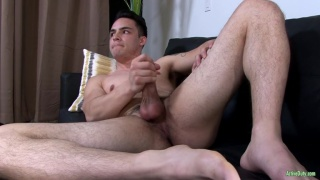 Sean Cody's Ollie Jacks Off as Rix on Active Duty