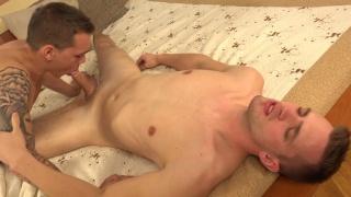 Sexy czech Marion Anel breaks in Anton Sanek's straight hole