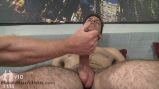 Straight guy needed help getting off