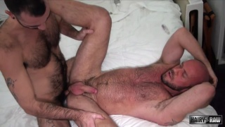 Matt Stevens and Stephen Hartefuck each other bareback