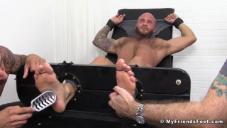 draken jaden restrained in the tickling chair