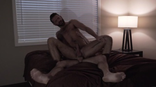 Brendan Patrick bottoms bare for Jeff Powers