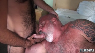 bear daddy Tony Da Rimma fucks Stephen Harte