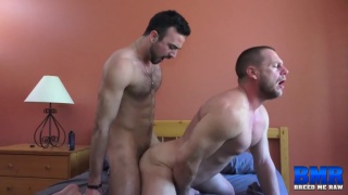 Hans Berlin gets ass fucked by Mason Lear