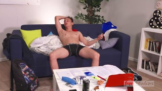 Enzo Lemercier's anal initiation