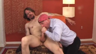 old gay man cock
