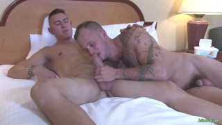 Ivan takes advantage of Zack's ass