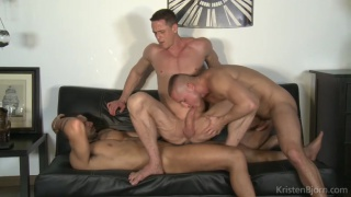 Full Of Spunk with Ivan Gregory, Denis Sokolov & Lucas Fox