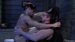 Armond Rizzo rides Andrew Stark's cock