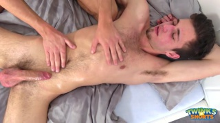 Jeffrey Lloyd and steve hard fuck after a massage