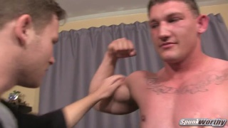 straight hunk avery fucks his second guy