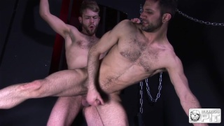 sleazy top fucks dirty blond guy