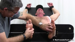 Dev Gagged and Tickled