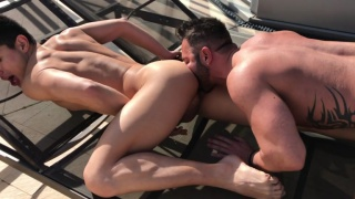 bareback sex with Martin Mazza and Ken Summers