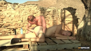 Sean Taylor plays with bound jack ashley