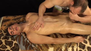 massage table blowjob with petr zuska