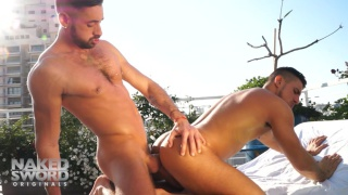 lovers Massimo Piano & Klein Kerr fuck in kiss and tel aviv