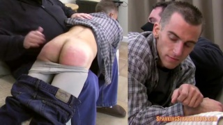 lean muscular stud gets his ass spanked